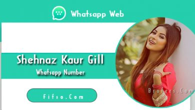 Photo of Model Shehnaz Gill Real Whatsapp Number