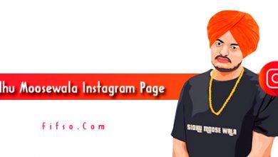 Photo of Sidhu Moosewala Real Instagram Page