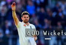 Photo of Fast Bowler James Anderson 600 Test Wickets Record