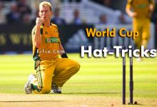 Photo of 10 Bowlers Who Take Hat-Trick In Cricket World Cup