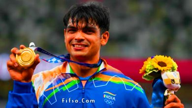 Photo of Neeraj Chopra Olympics Gold Medal Wallpaper Tokyo 2020-2021