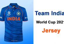 Photo of Indian Team New Jersey ICC T20 World Cup 2021 And 2023