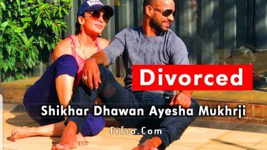 Photo of Shikhar Dhawan Divorce News 2021 And Wife Ayesha Mukherjee Photos